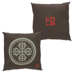 Mobile Suit Gundam Japanese Family Crest Pillow