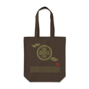 Mobile Suit Gundam Japanese Family Crest Tote Bag