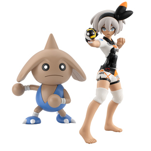 POKEMON SCALE WORLD GALAR BEA & HITMONTOP W/O GUM