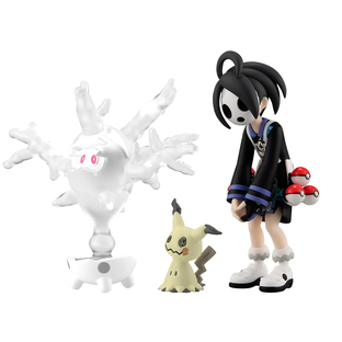POKEMON SCALE WORLD GALAR ALLISTER & MIMIKYU & CURSOLA [MAY 2021 DELIVERY]