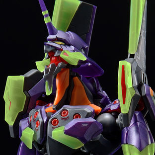 RG Multipurpose Humanoid Decisive Weapon, Artificial Human Evangelion Unit-01 [NIGHT COMBAT COLOR] [Aug 2021 Delivery]