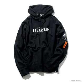 The One Year War Hoodie—Mobile Suit Gundam/STRICT-G NEW YARK Collaboration