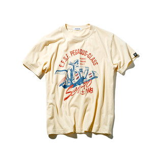 White Base T-shirt—Mobile Suit Gundam/STRICT-G Collaboration