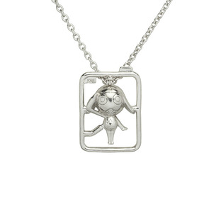Keroro Necklace with Plastic-Model Runner—Sgt. Frog (Keroro Gunso)/JAM HOME MADE Collaboration