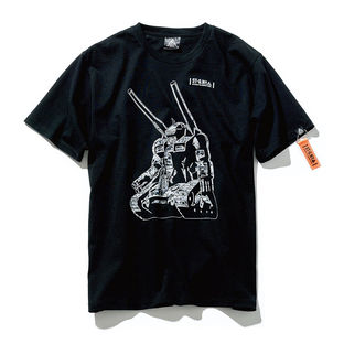 Guntank Collage T-shirt—Mobile Suit Gundam/STRICT-G NEW YARK Collaboration
