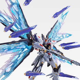 METAL BUILD STRIKE FREEDOM GUNDAM WINGS OF LIGHT OPTION SET SOUL BLUE Ver.