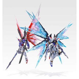 METAL BUILD STRIKE FREEDOM GUNDAM WINGS OF LIGHT OPTION SET SOUL BLUE Ver.