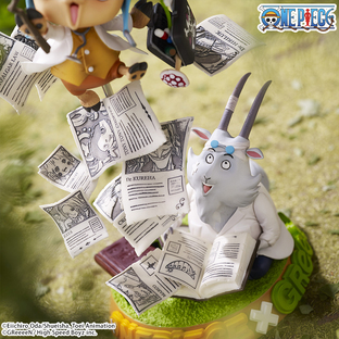 One Piece Collaboration figure ~ Challenge from GReeeeN~ [Mar 2021 Delivery]