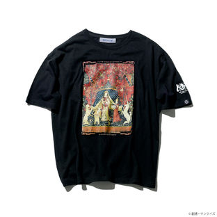 The Lady and the Unicorn T-shirt—Mobile Suit Gundam Unicorn  [Feb 2022 Delivery]