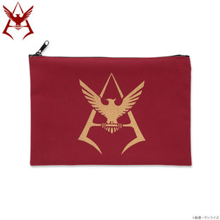 Mobile Suit Gundam Char Aznable Golden Emblem Pouch