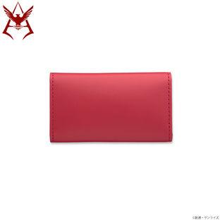 Mobile Suit Gundam Char Aznable Golden Emblem Key Case