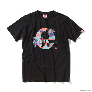 Japanese Style Logo T-shirt—Mobile Suit Zeta Gundam/STRICT-G JAPAN Collaboration