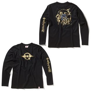 Hyaku Shiki Long-Sleeve T-shirt—Mobile Suit Gundam/STRICT-G JAPAN Collaboration