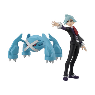 POKEMON SCALE WORLD HOENN STEVEN & METAGROSS W/O GUM