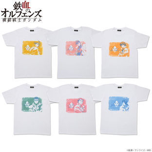 Mobile Suit Gundam: Iron-Blooded Orphans Tricolor-themed T-shirt