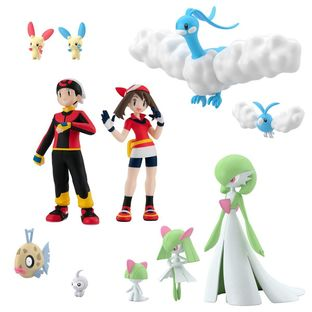 POKEMON SCALE WORLD HOENN 2 SET W/O GUM