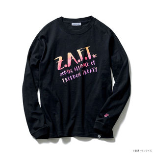 ZAFT Long-Sleeve T-shirt—Mobile Suit Gundam SEED/STRICT-G Collaboration