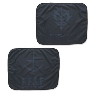 Mobile Suit Gundam Black Emblem Blanket