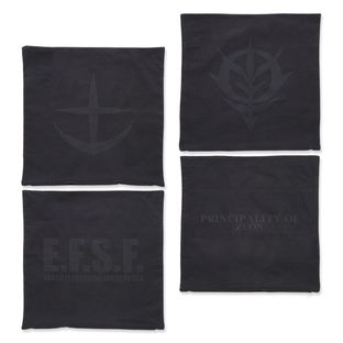 Mobile Suit Gundam Black Emblem Pillow Cover
