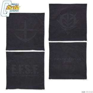 Mobile Suit Gundam Black Emblem Pillow Cover