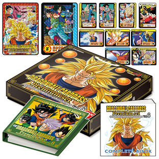 DRAGONBALL CARDDASS PREMIUM SET VOL. 6 (Premium Card Included)