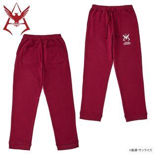 Mobile Suit Gundam Char Aznable Logo Workout Pants