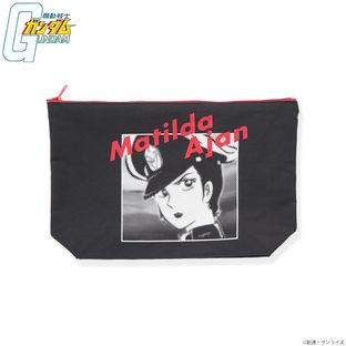 Mobile Suit Gundam Matilda Ajan Large Pouch