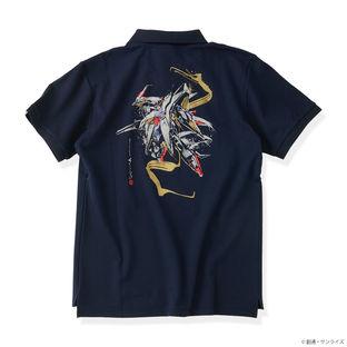 Penelope Polo Shirt—Mobile Suit Gundam Hathaway/STRICT-G JAPAN Collaboration