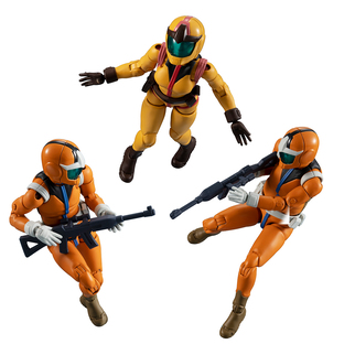 G.M.G. Mobile Suit Gundam Earth Federation Force 04,05,06 Sayla Mass set 【with gift】