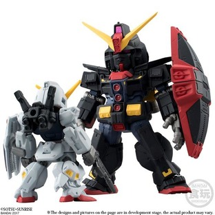 FW GUNDAM CONVERGE HONG KONG CITY BATTLE SET (GUNDAM Mk-II FULL WEAPON SET/PSYCHO GUNDAM) 2 IN 1SET