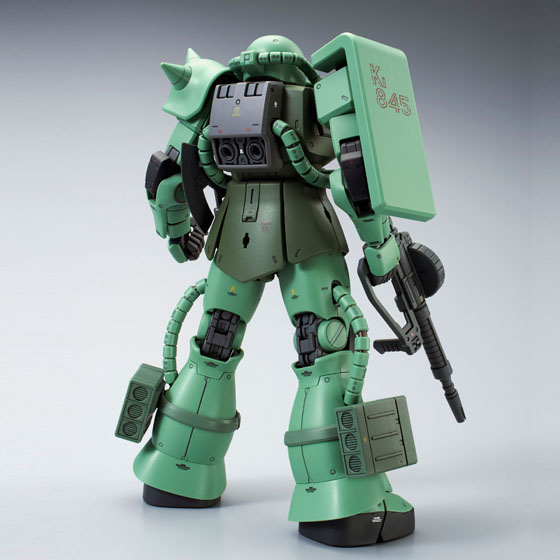 【鋼彈模型感謝祭2.0】MG 1/100 MS-06J ZAKU II (THE GRAVITY FRONT IMAGE COLOR Ver.)