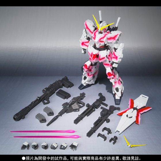 【商品搶先預購會】ROBOT魂 〈SIDE MS〉 UNICORN GUNDAM (Psycho Frame Light Emitting Spec) GLOWING STAGE Set