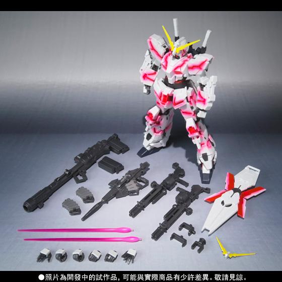 【特別販賣活動】Robot Spirits 〈SIDE MS〉 UNICORN GUNDAM (Psycho Frame Light Emitting Spec) GLOWING STAGE Set