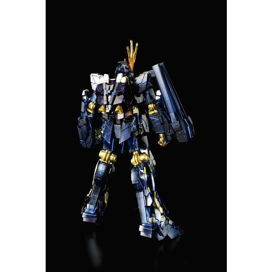 [新年感謝祭 會員限定販售] HGUC 1/144 UNICORN GUNDAM 02 BANSHEE UNICORN MODE DARK CLEAR VER.