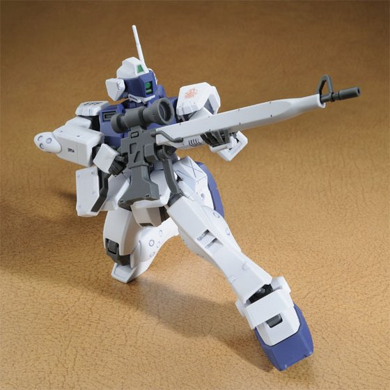 [新年感謝祭 會員限定販售] HGUC GM SNIPERII WHITE DINGO TEAM CUSTOM