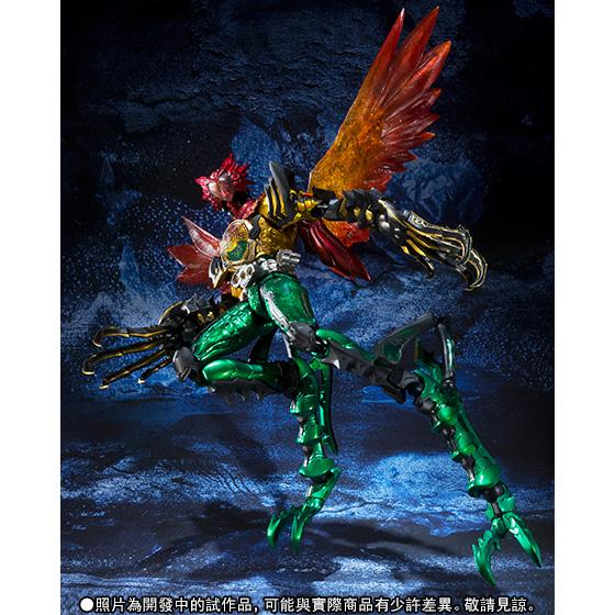 S.I.C. Kamen Rider 000 Super TATOBA Combo