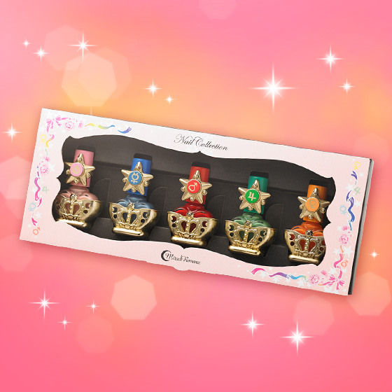 Sailor Moon R Miracle Romance Nail Collection [10月 2014 Delivery]