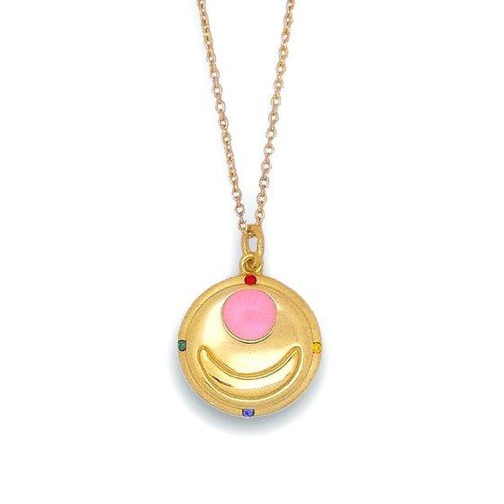 Sailor moon Transform brooch design Silver925 pendant K18 coarting [Aug 2014 Delivery]
