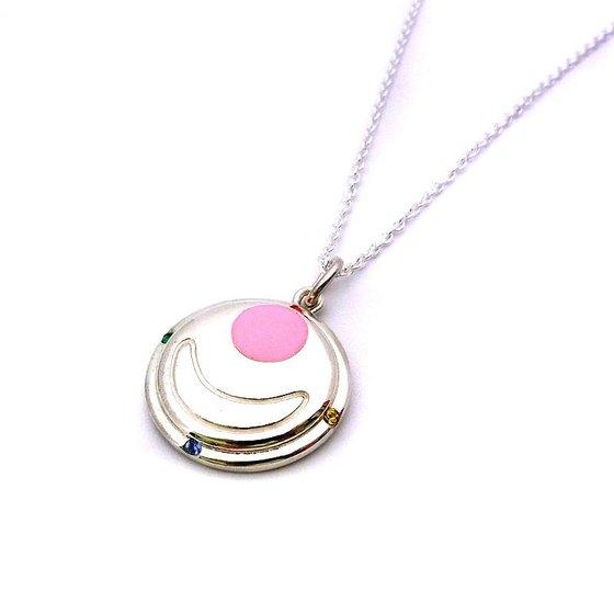Sailor moon Transform brooch design Silver925 pendant [Aug 2014 Delivery]