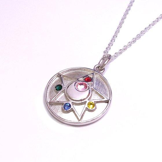 Sailor moon R Crystal brooch design Silver925 pendant [Oct 2014 Delivery]