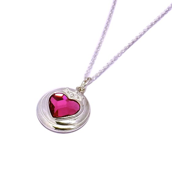 Sailor moon S Chibimoon prism heart compact design Silver925 pendant [Aug 2014 Delivery]