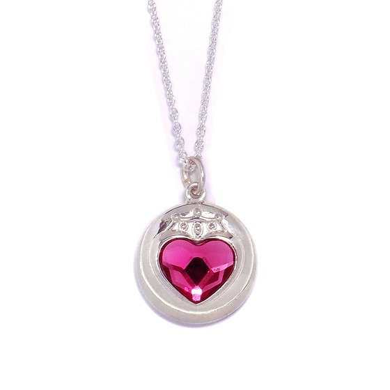 Sailor moon S Chibi Moon prism heart compact design Silver925 pendant [Nov 2014 Delivery]