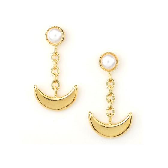 Sailor moon Silver925 pierce Gold coarting [Nov 2014 Delivery]