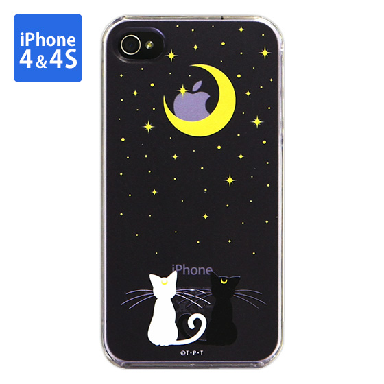 Cover for iPhone4 SAILOR MOON Luna & Artemis