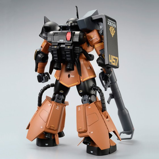 [新年感謝祭 會員限定販售] MG 1/100 MS-06R-2 ZAKU II GABBY HAZARD'S CUSTOM