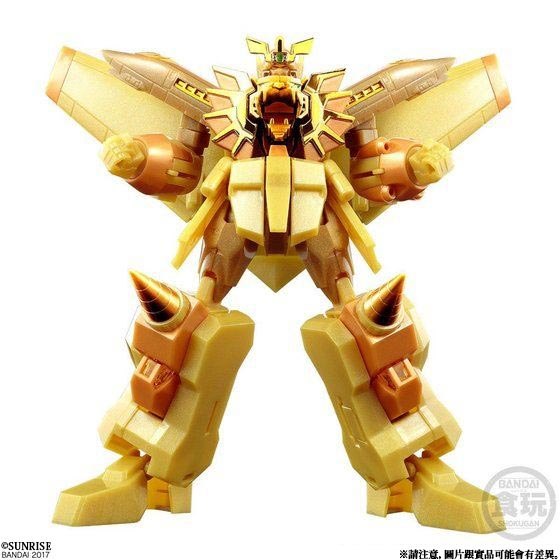 SUPER MINIPLA GAOGAIGAR GOLDEN PLATED EDITION W/O GUM [2018年5月發送]
