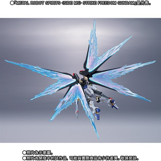 METAL ROBOT SPIRITS 〈SIDE MS〉 WING OF LIGHT & Hi-MAT FULL BURST EFFECT SET
