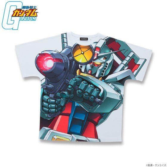 機動戰士鋼彈 全版大圖T恤 RX‐78‐2