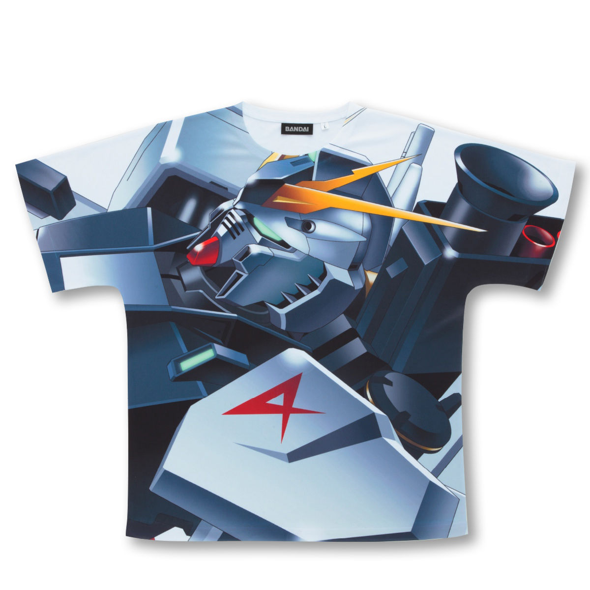 機動戰士鋼彈 逆襲的夏亞 全版大圖T恤 RX-93 ν鋼彈