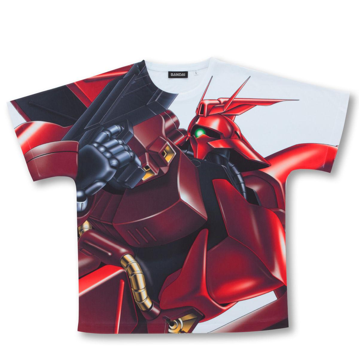 機動戰士鋼彈 逆襲的夏亞 全版大圖T恤 MSN-04 沙薩比